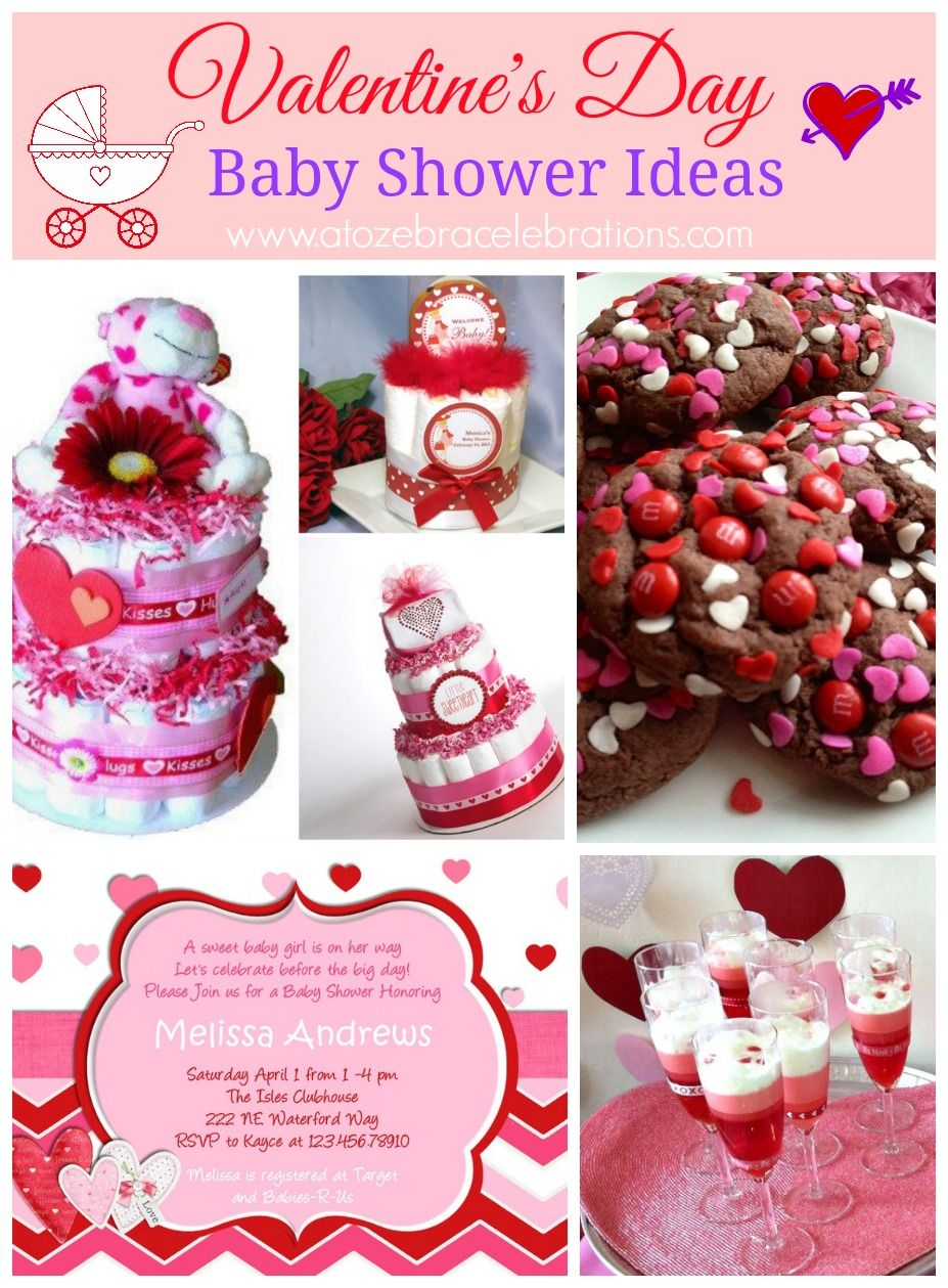 Valentine S Day Baby Shower Baby Shower In 2019 Baby Shower