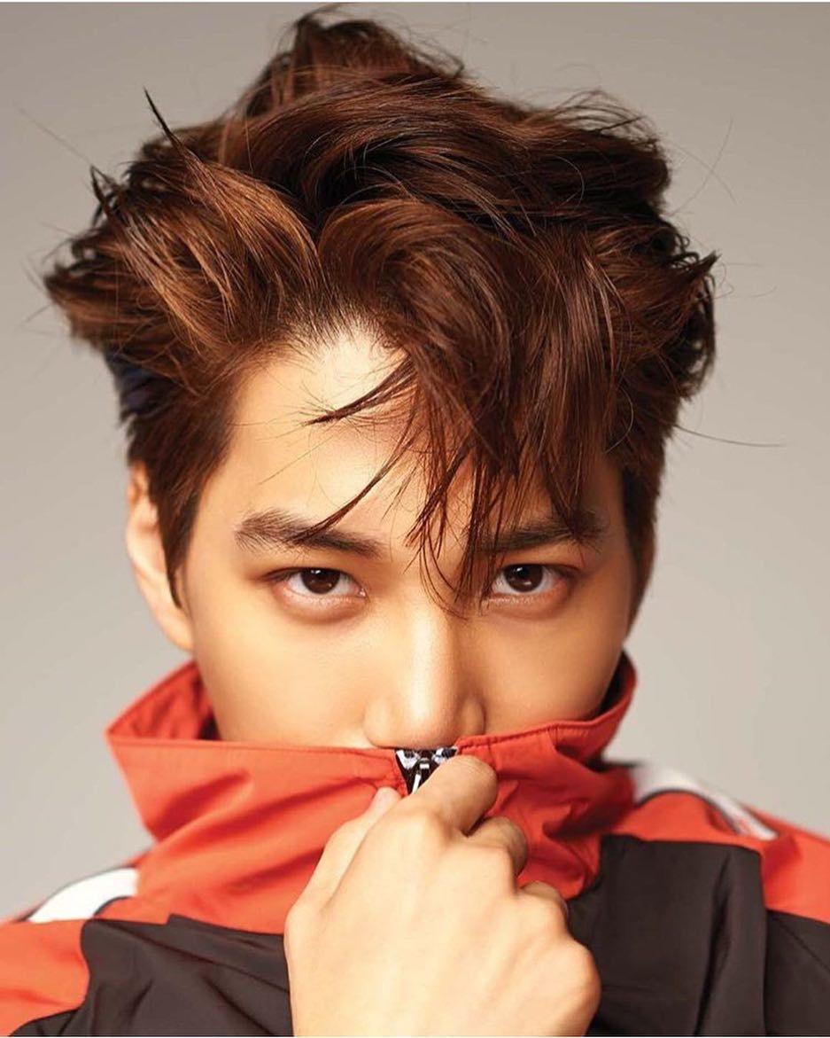 Most Handsome K Pop Male Idols Exo Kai Kim Jong In Kpop K Pop Music K Pop Boy Groups Best K Pop Boy Bands Top K Pop Boy Kim Jong In Handsome Kai