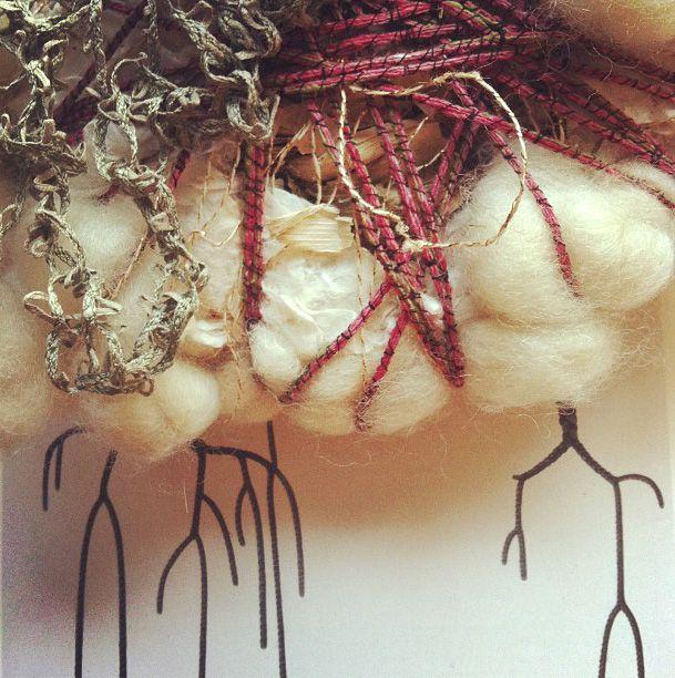 Lost in Fiber: The Gathering (work in progress/Abigail Doan)