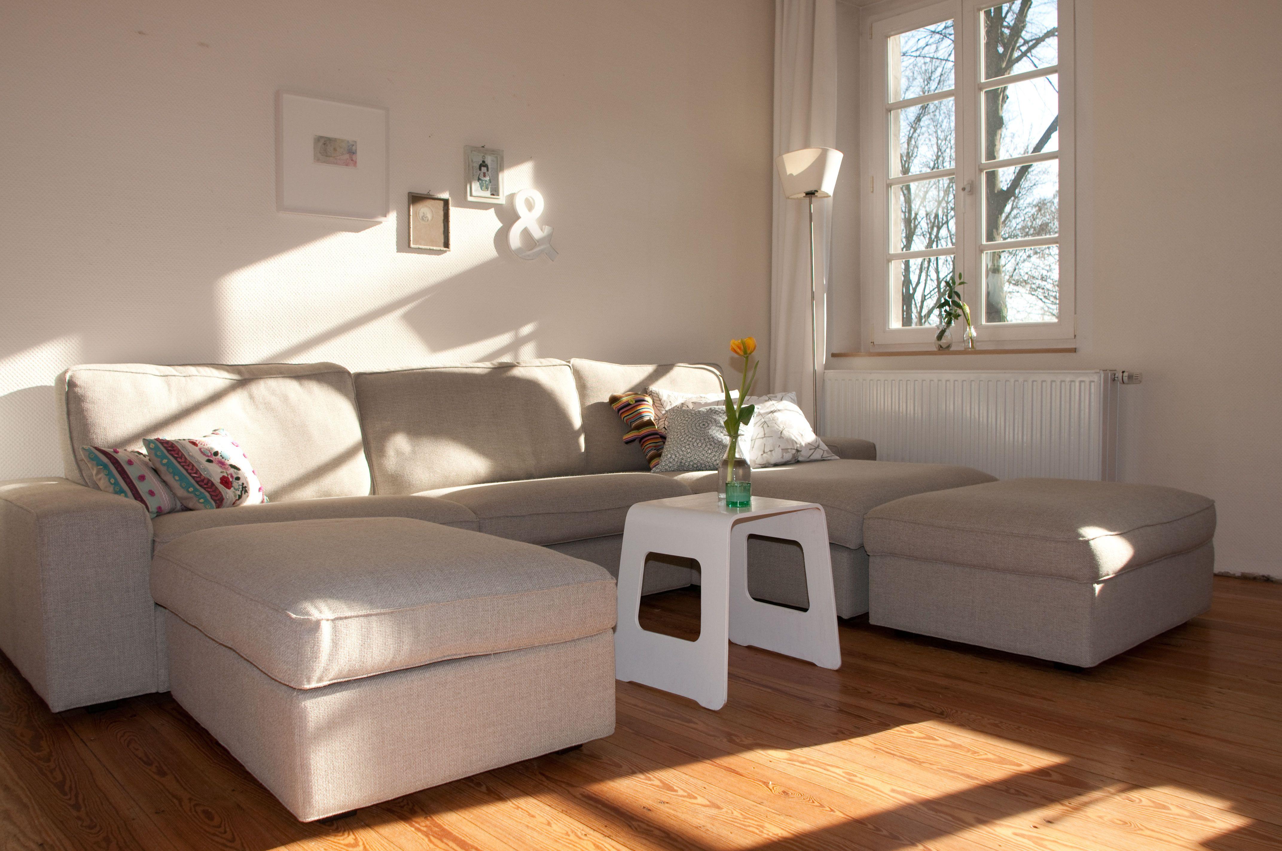 Sofa Kivik in 2019   Beige wohnzimmer, Wohnzimmer sofa und ...