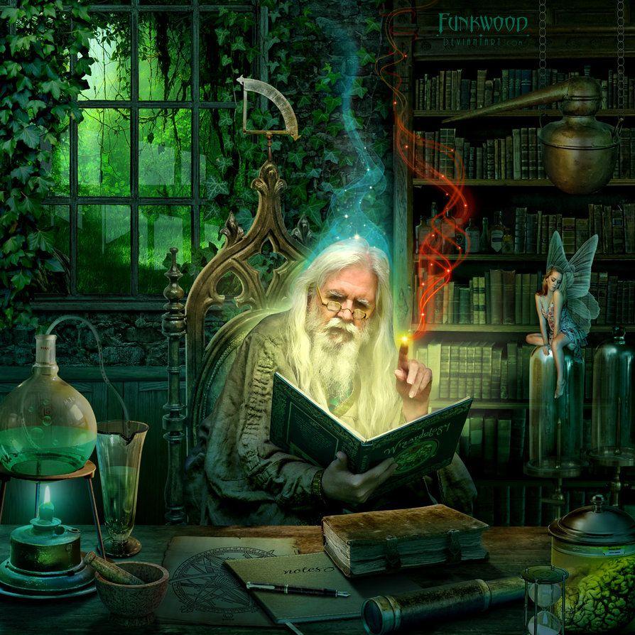Wizards Den by funkwood on DeviantArt