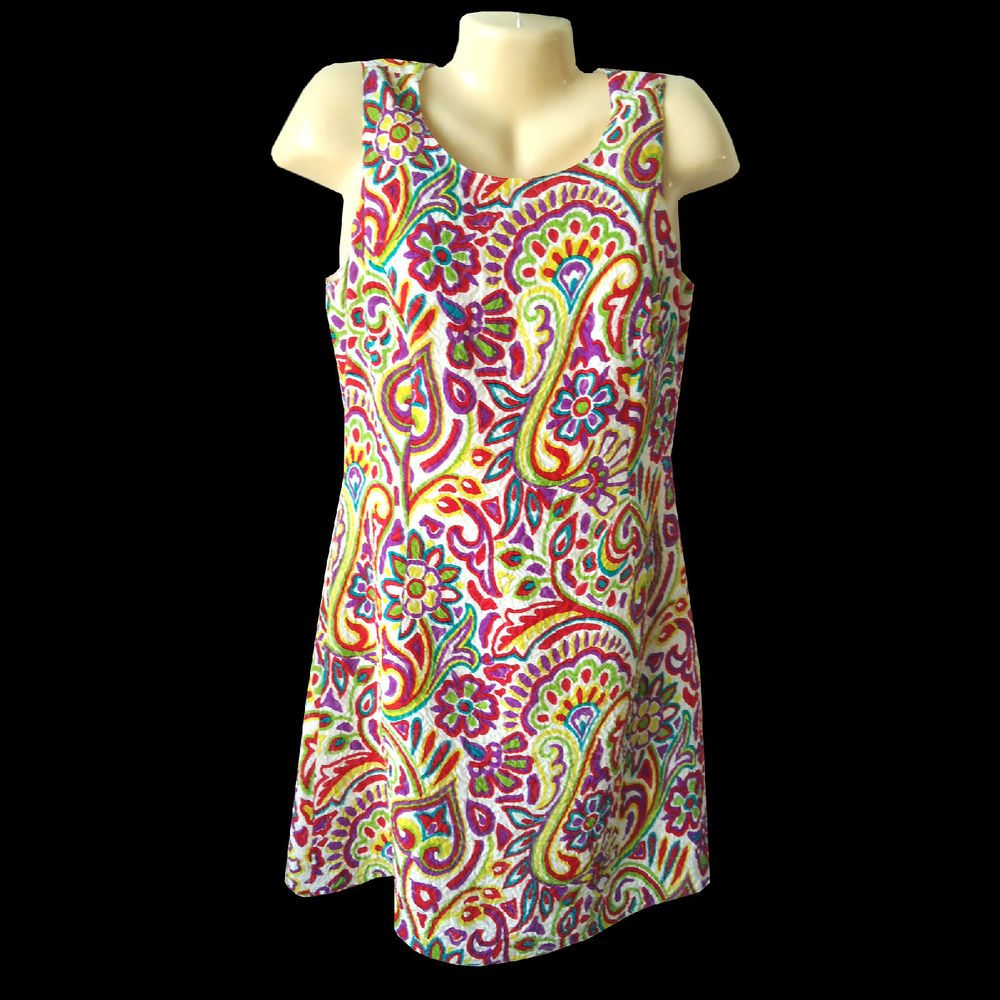 VERSUS Gianni Versace Vintage 1990s Dress Floral Size S Small 32 AS IS CONDITION #GianniVersaceVersus