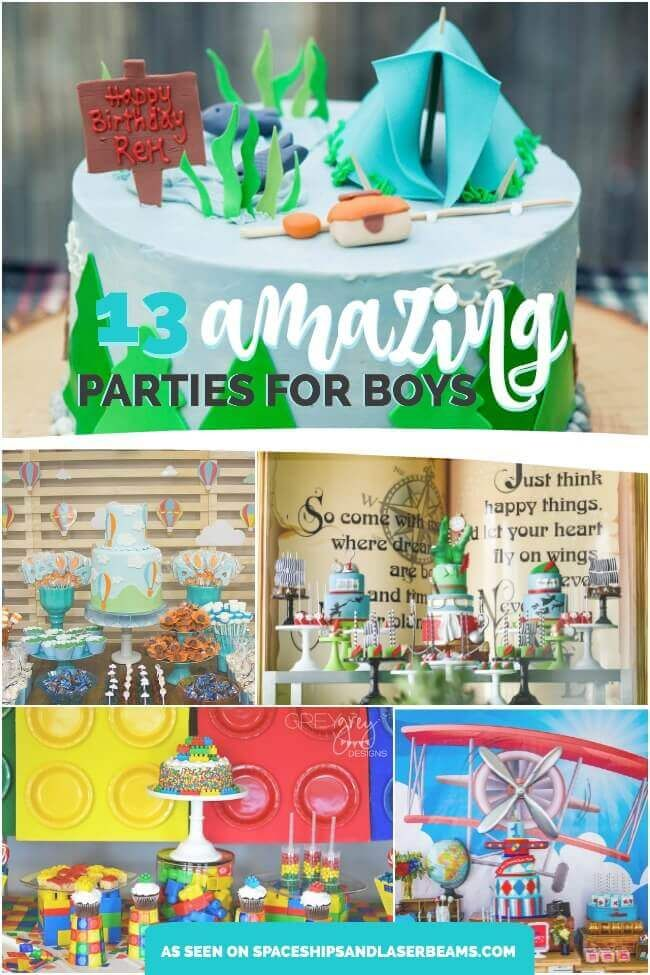 Best Birthday Party Themes For Boys Party Themes For Boys Fun Birthday Party Boy Birthday Parties