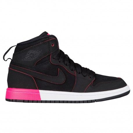 Jordan AJ 1 High - Girls' PreschoolThis is how it all started in 1985 when  MJ began his reign and never looked back.TPU, jeweled Air Jordan trademark  with ...