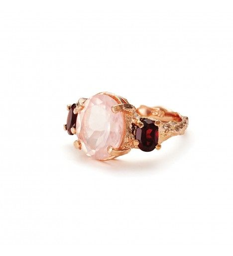 Dew Drop In The Wild Ring In Rose Gold