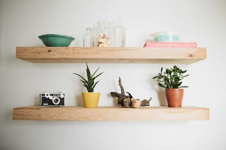 Reclaimed Barnwood Shelves | The Merrythought