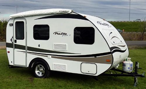 unusual tiny rvs. Prolite s Plus S travel trailer is a small but comfortable camper designed  for vacations two