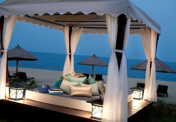 Sanya Luxury Resort Spa Beach Cabana
