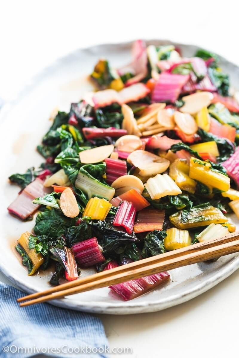 Easy Swiss Chard Stir Fry A Delicious Side Dish That Needs