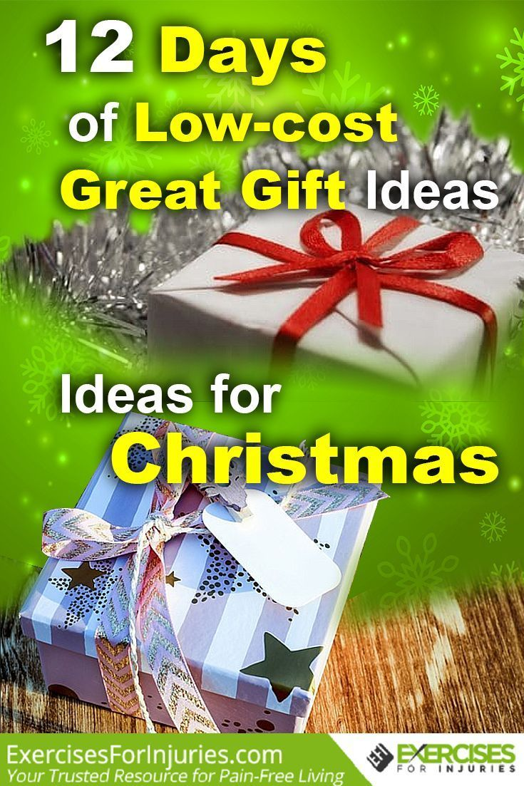 12 Days Of Christmas Cost 2019 12 Days of Low cost Great Gift Ideas for Christmas | Christmas