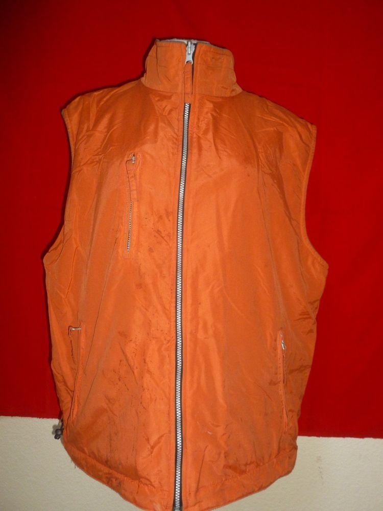 b28e7c56b9bb6 Free Country Nylon Fleece Reversible Vest Mens XXL 2XL  FreeCountry  Vest