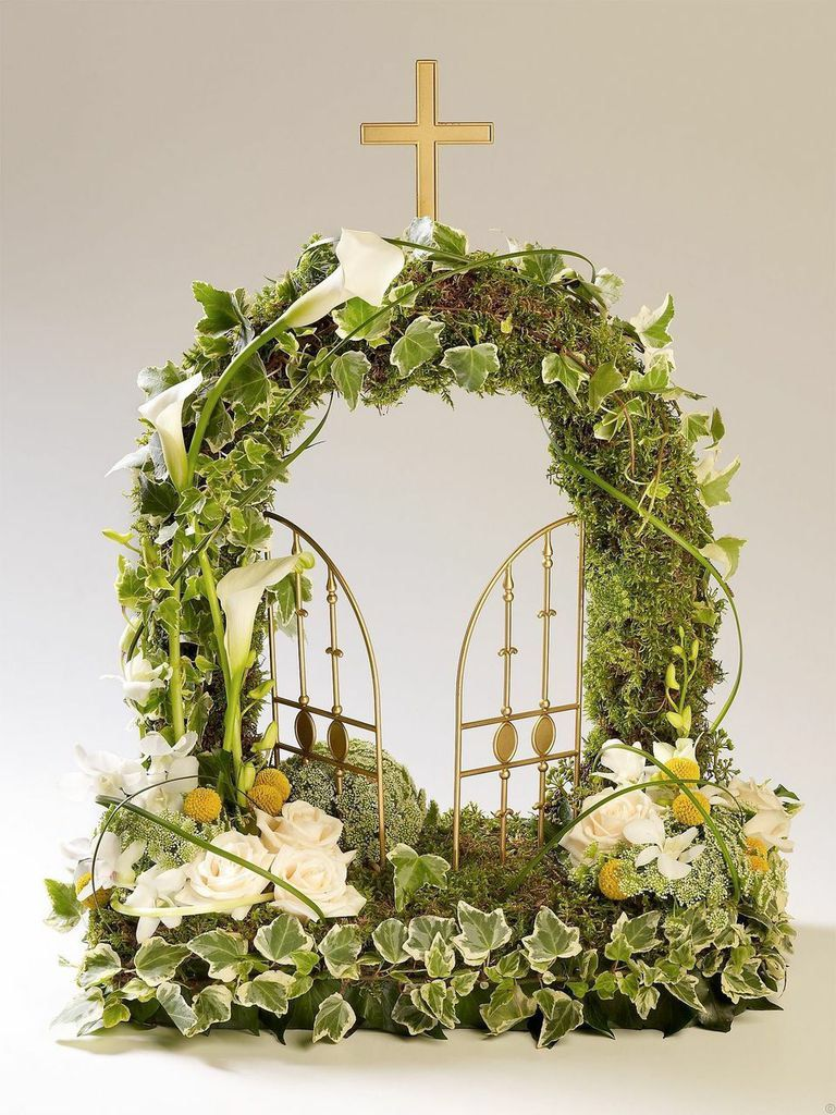 Gates of heaven garden theme sympathy pinterest funeral gates of heaven garden theme izmirmasajfo