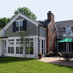 Traditional Detroit Exterior Design Ideas Pictures Remodel Decor Red Brick Exteriors Brick Exterior House Red Brick House