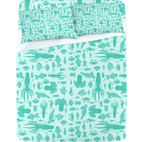 "Jennifer Denty ""Sea Creatures"" Sheet Set"