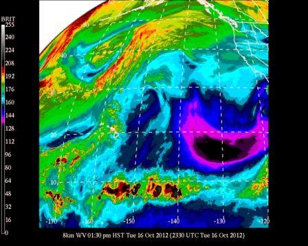 #UHManoa #Hawaii #Meteorology #Weather #Temp 84F #RH 54% #Winds SE 7mph #Fair