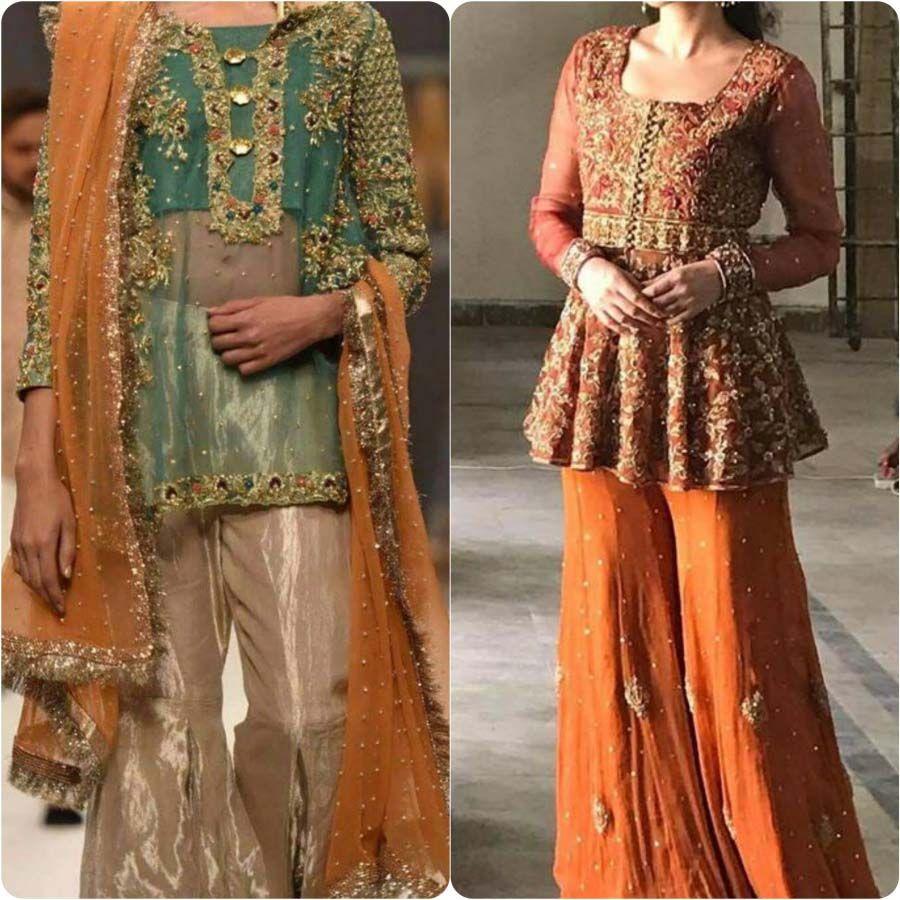 Mehndi Bride Outfit : Bridal mehndi dresses couture pinterest