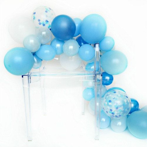 Diy balloon garland kit oceana one stylish party the for What can you make with balloons