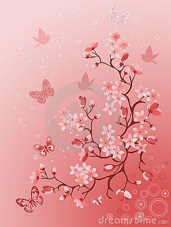 Japanese Cherry Tree For Your Design Tattoos En 2019