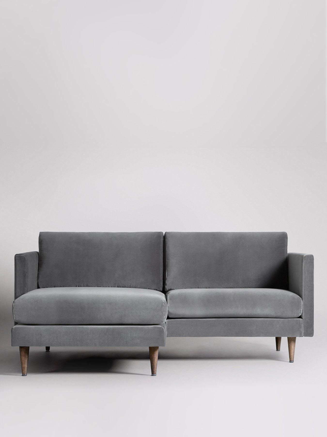 Left Hand 2 Seater Corner Sofa