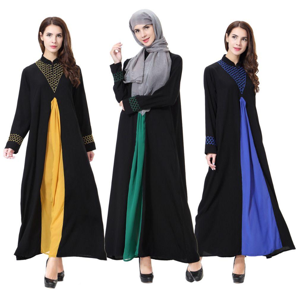 732d5ef9f344 Click to Buy << Newest Muslim abaya dress Islamic clothing for women muslim  hijab dress turkish traditional clothes dubai abaya dress 90M5341  #Affiliate. >>