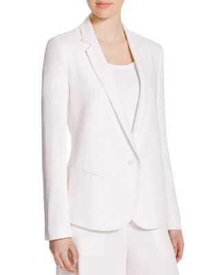 4bfadce6d8a7 THEORY Robiva Admiral Crepe Blazer. #theory #cloth #blazer | Theory ...
