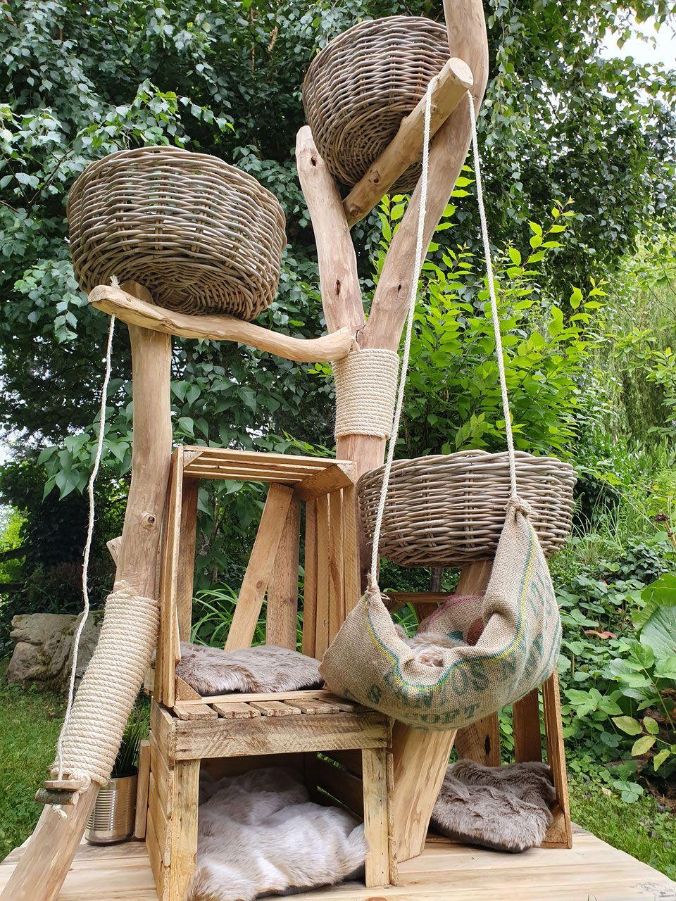 weitere verkaufte Bäume - Naturholzbäume für Katzen