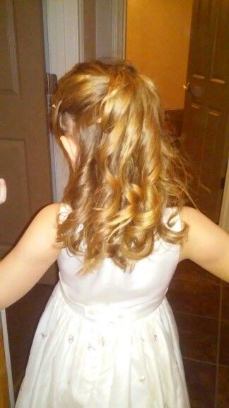 I did my daughter's hair for her Cinderella Ball at school, she loved it..