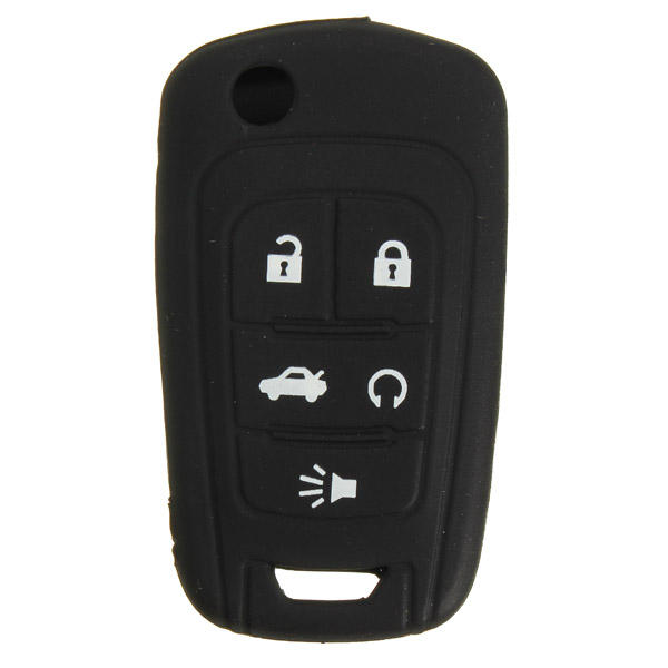 Silicone Key Case Holder Fob Protector Cover For Chevrolet Camaro