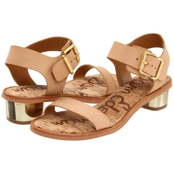 17c94fc370f02b Sam Edelman Trina sansals Very cute. Great condition. Ankle strap and  plated heel. Sam Edelman Shoes Sandals