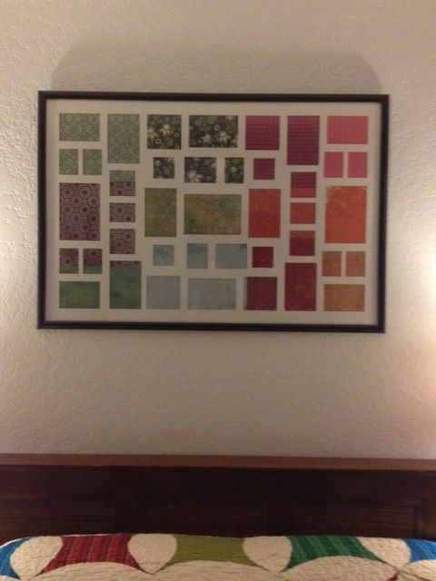 Homemade Art20 Dollar Poster Frame At Walmart Came With Collage