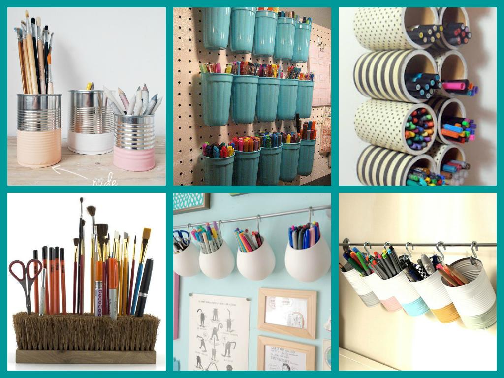 Latas de conserva pintadas buscar con google ideas - Organizadores hogar ...