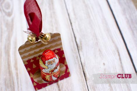 Nikolaus Verpackung mit Stampin' Up!