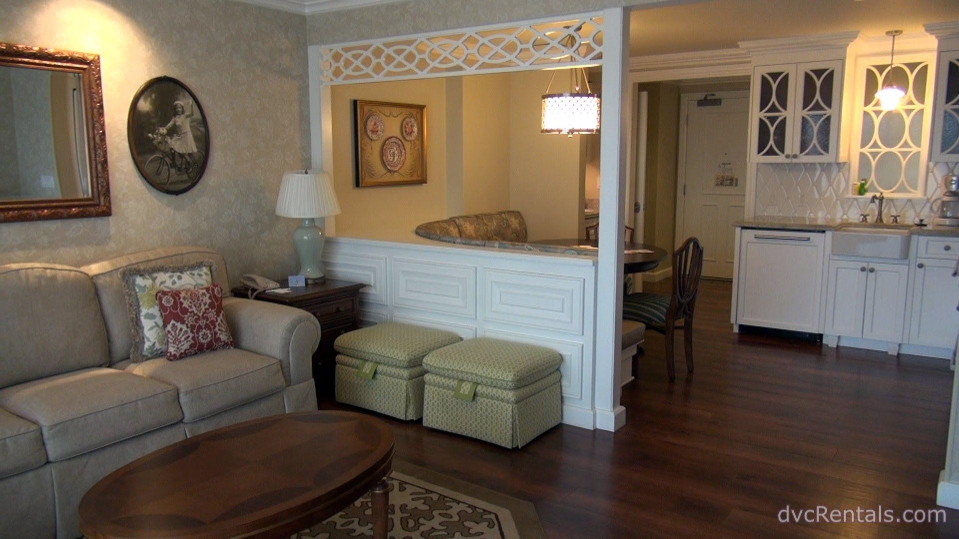 VILLAS AT DISNEY'S GRAND FLORIDIAN RESORT & SPA ROOM