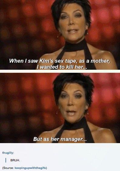 Is Kim K's Mom The Reason Kim Is The Way She Is? http://ibeebz.com