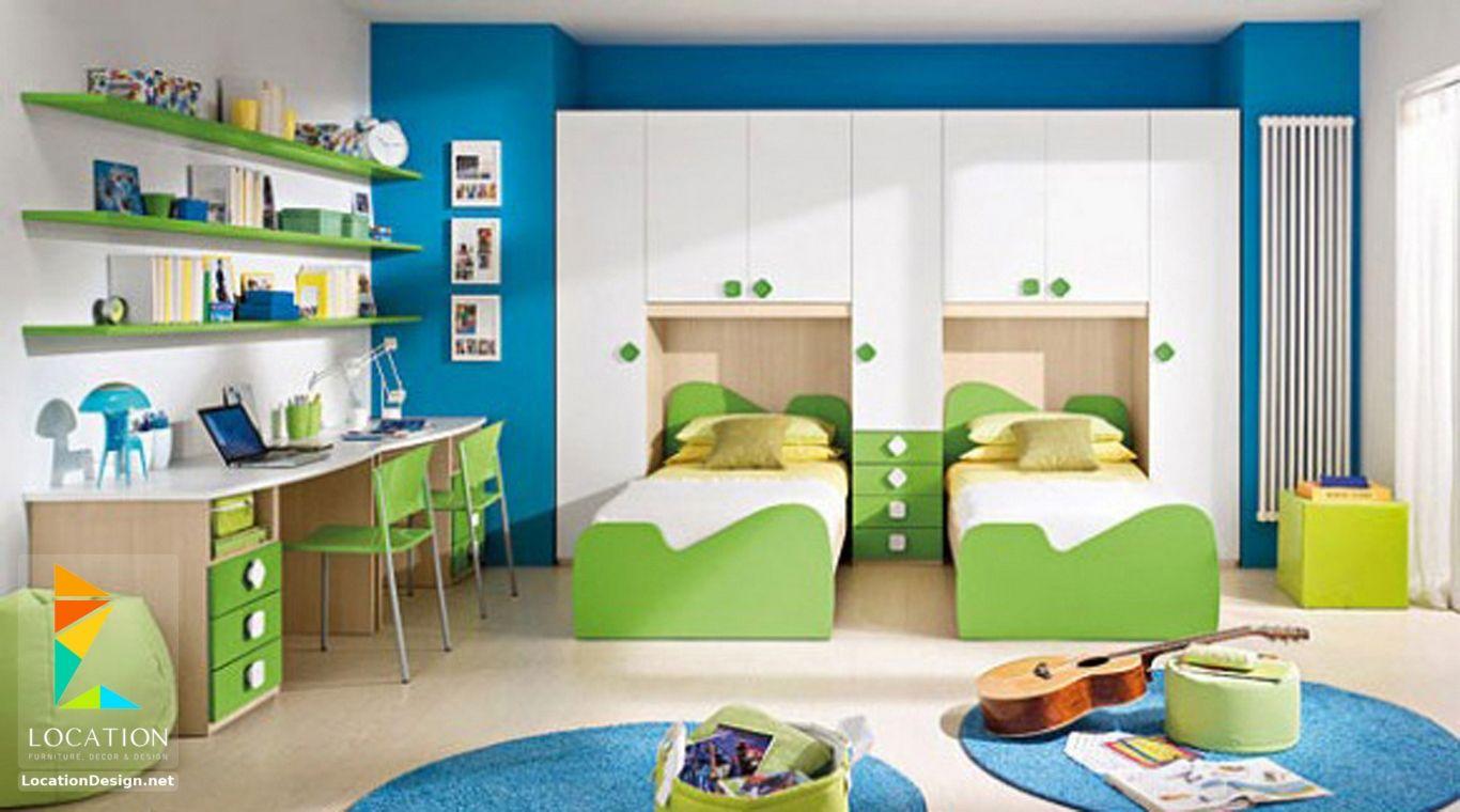 كتالوج صور غرف اولاد بسيطة غرف نوم اطفال اولاد 2017 2018 لوكشين ديزين نت Kids Bedroom Furniture Design Kids Room Furniture Kids Room Interior Design