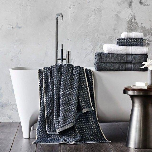 Sheridan Mentelle towels  Textures for the bathroom designed by Sheridan Sydney Australia  #bravacasa #vogueliving #luxuryhome #daman #esquire #cosmopolitan #towel #lifestyle #jakarta #surabaya #bali Reposted Via @aussie_indo