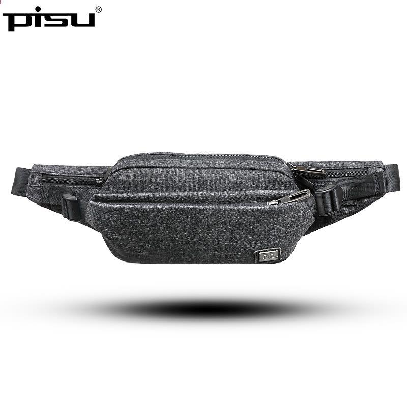 174f477721f4 PISU taille sac pour les hommes de la mode de la mode sac à main sac ...