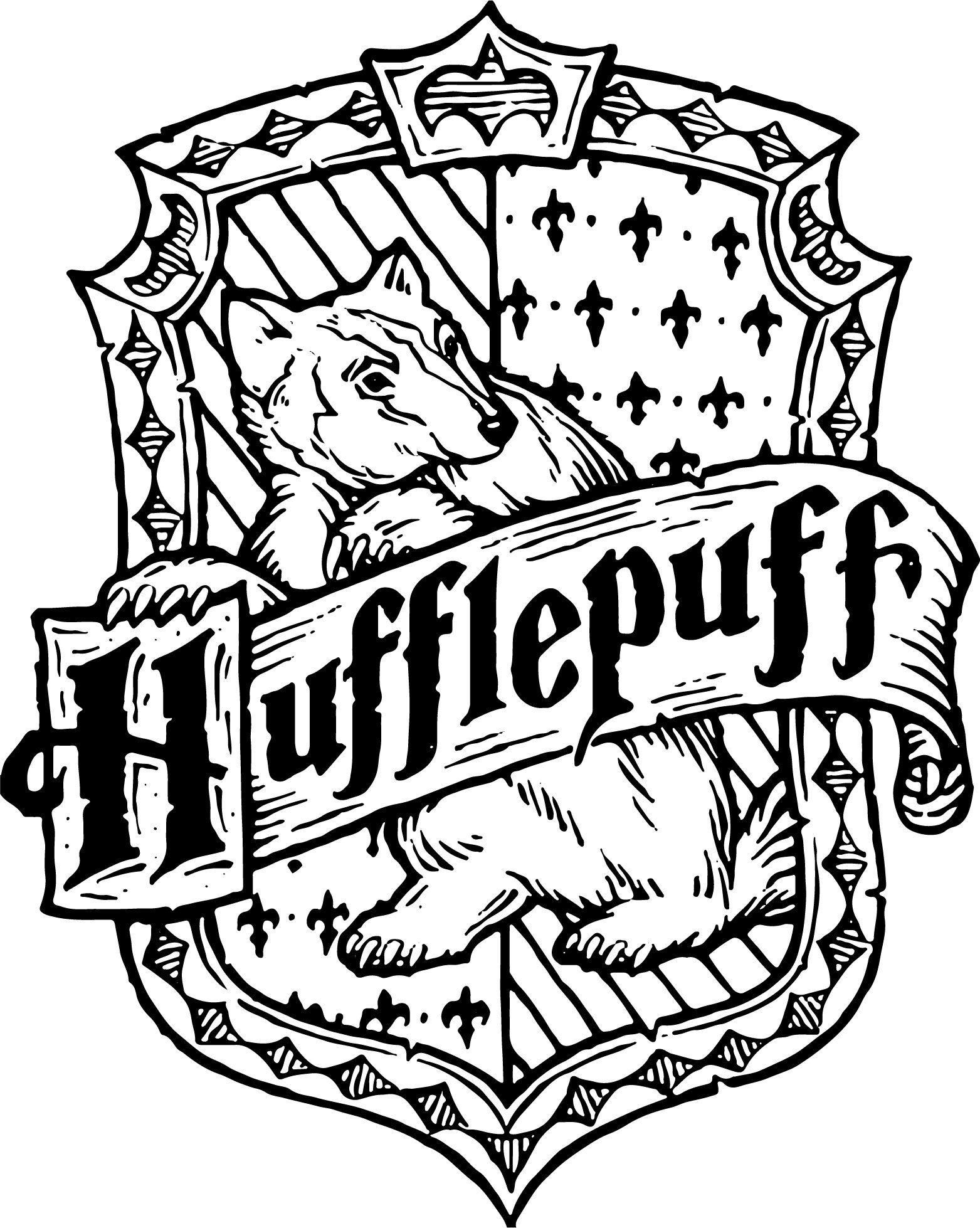 Hufflepuff Crest Emblem Badge Svg Harry Potter Hogwart S House Vector Illustration By Retro Harry Potter Colors Harry Potter Crest Harry Potter Hogwarts Houses