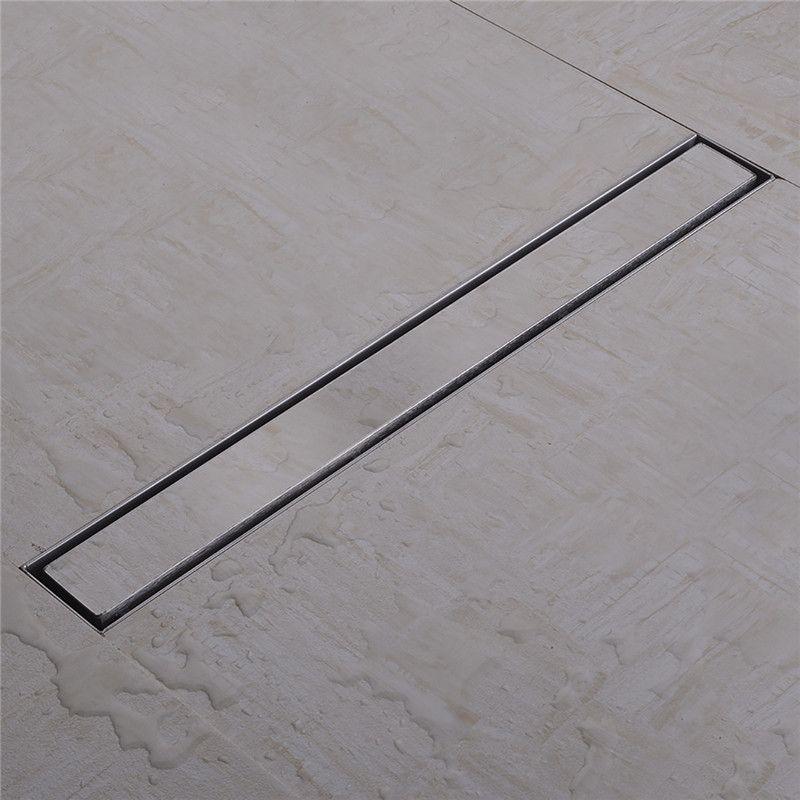 best price 304 stainless steel tile insert linear shower drains ...