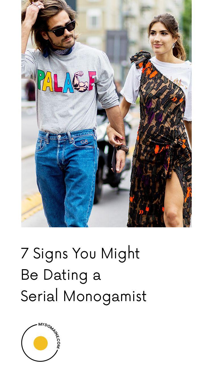 seriell monogamist dating Online Dating han aldrig ställer frågor