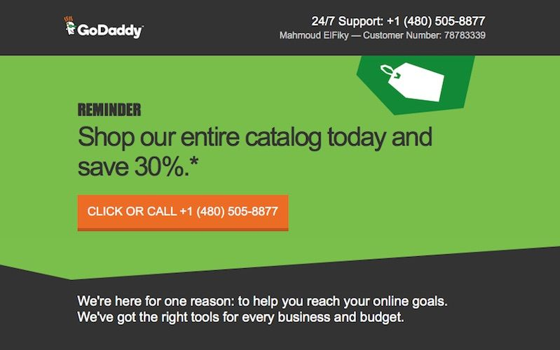 30 Off Coupon At Godaddy Entire Catalog With Images Wp Themes