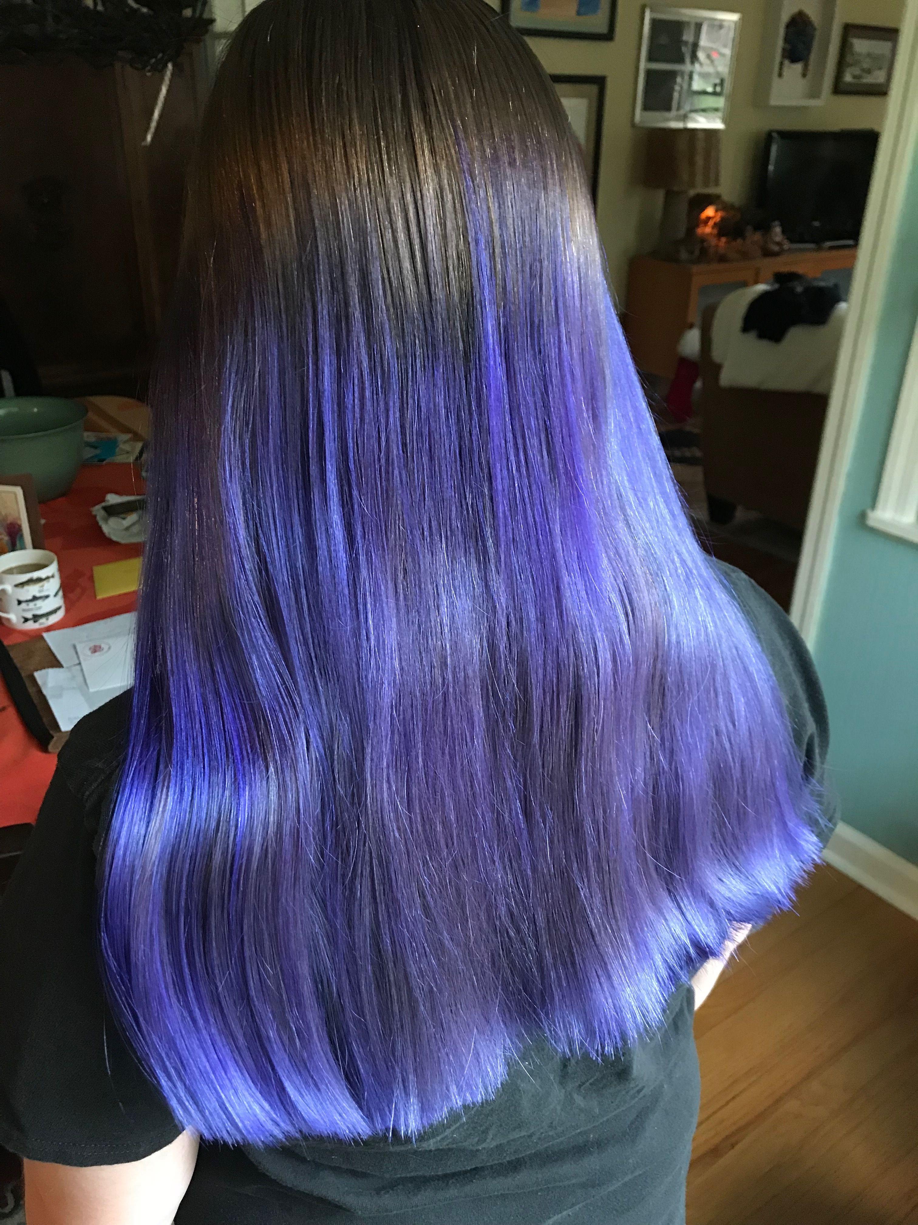 Maya Manic Panic Ultra Violet Creative Hair Color Creative Hairstyles Long Hair Styles