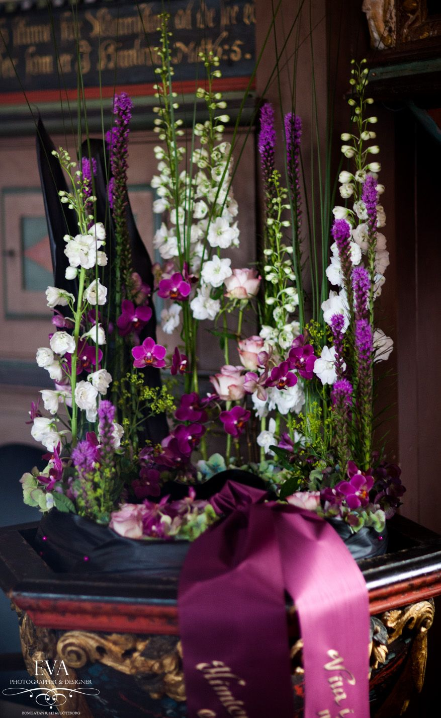 Sympathy Flowers In Purple Tribute Flowers Pinterest Sympathy