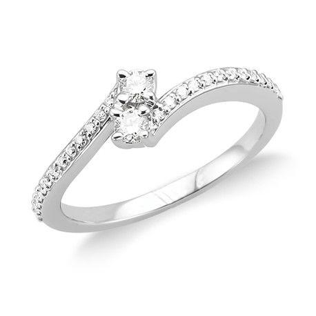Foevermore Diamond Ring Andrews Jewelers Buffalo NY