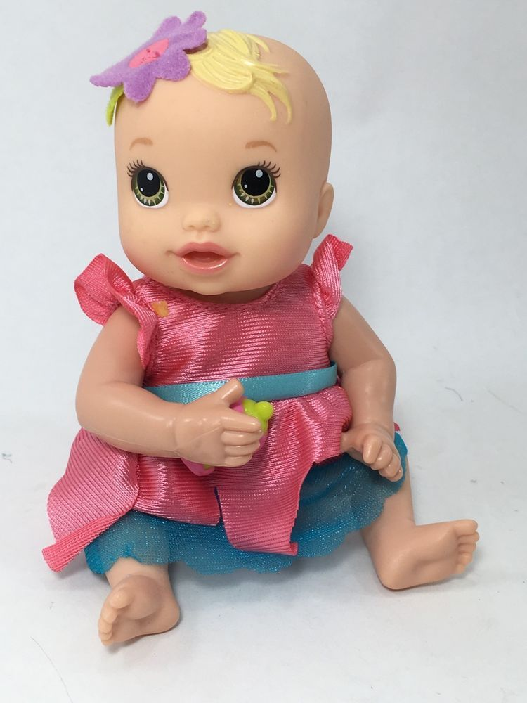 Baby Alive 2012 Mini Hasbro Newborn Kicks And Cuddles Baby