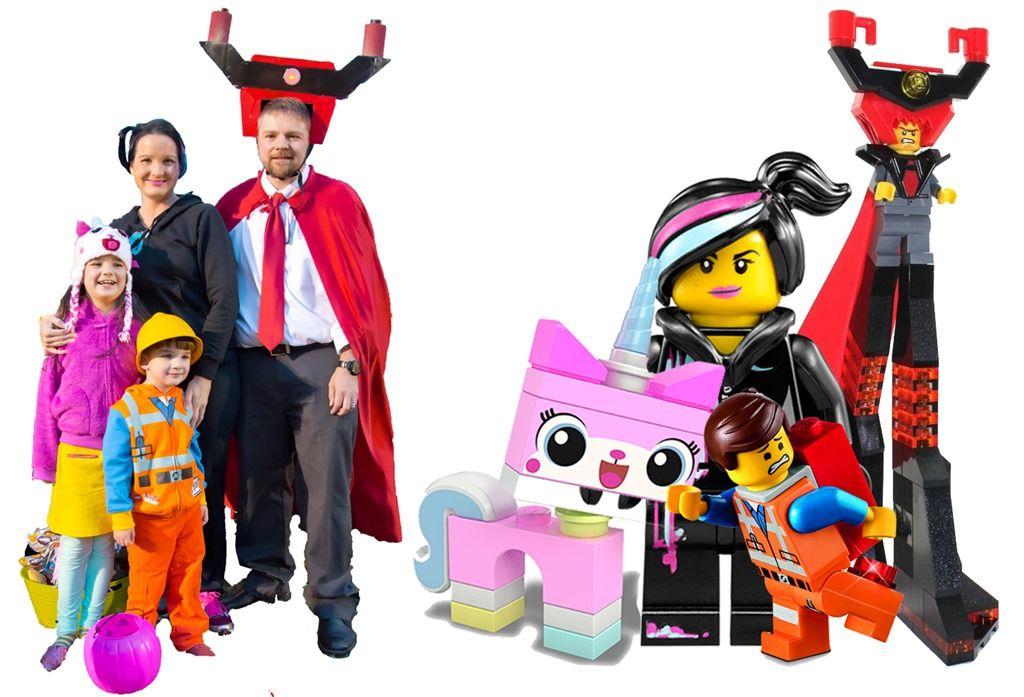 The Night We Turned Into Legos Lego Movie Costume Movie Halloween Costumes Lego Halloween