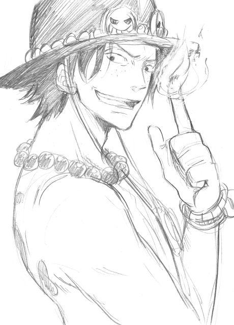 Pin By Irene Irene On One Piece One Piece Drawing One Piece Ace One Piece Manga