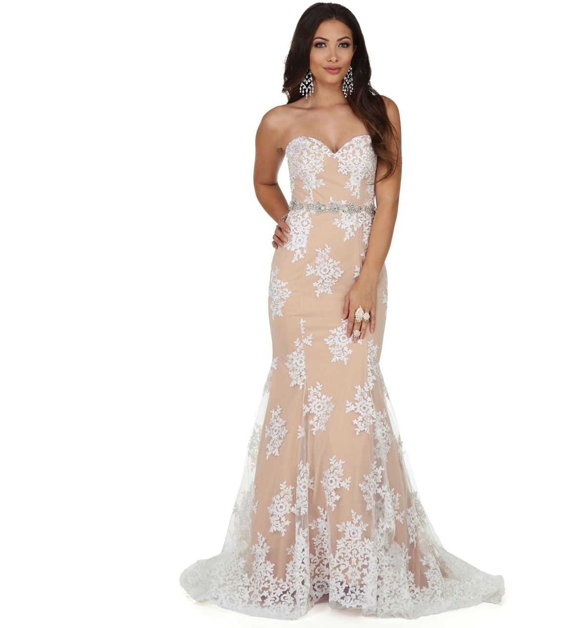 Ambrosia white formal dress fancy dresses pinterest products