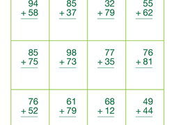 Math Worksheets & Free Printables | Education.com | Fall camp ...