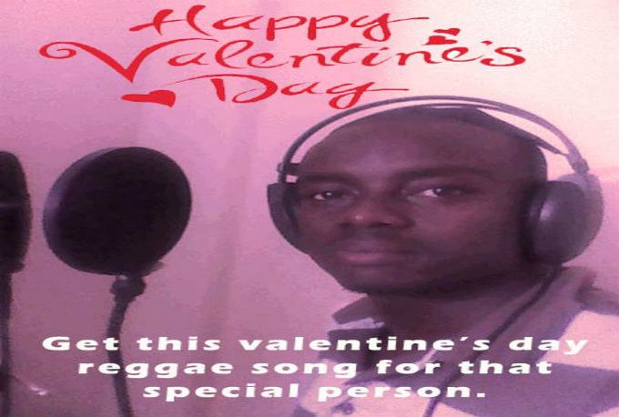 sing a Valentines Day song in reggae style